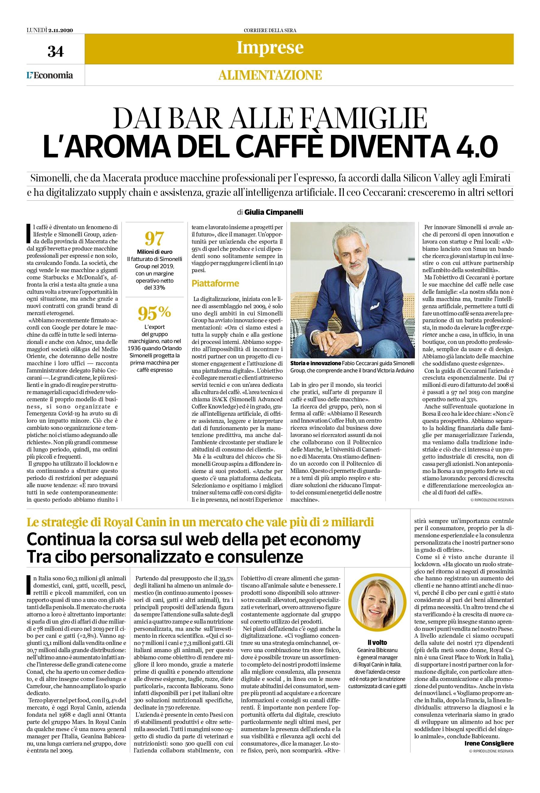 Corriere della Sera - articolo Simonelli Group_page-0001-min