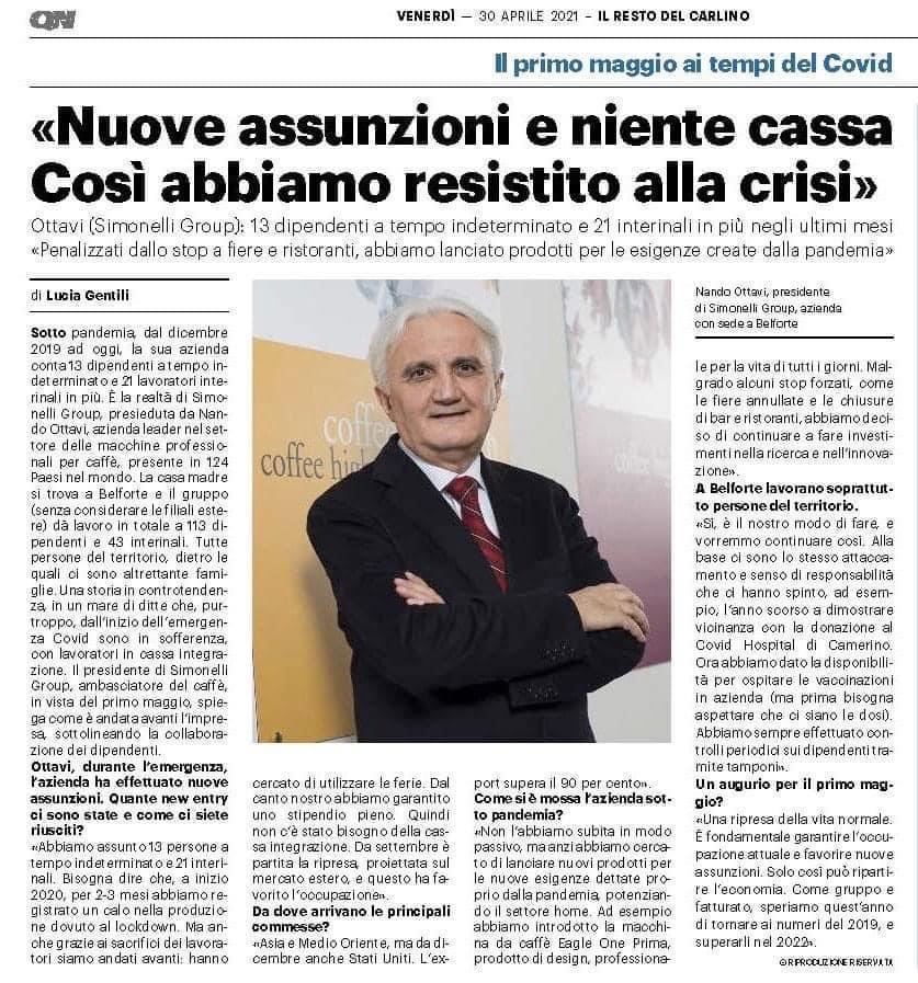 Articolo Simonelli